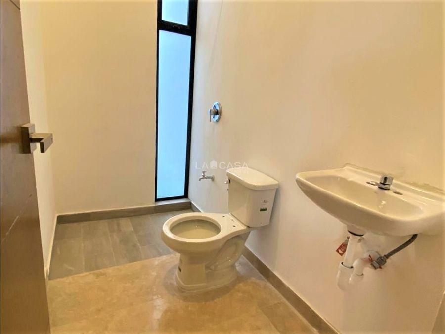 casa de un piso con porton y 2 habitaciones en cholul