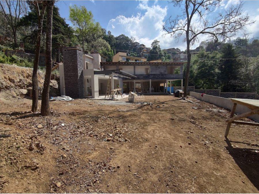 condominio ecologico con vistas al lago y monte alto