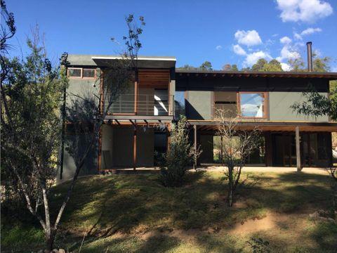 pre venta casas ecologicas en valle de bravo
