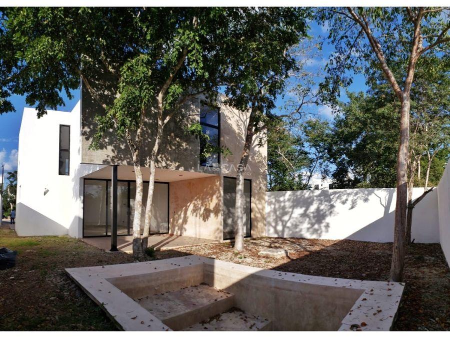 casa de 3 habitaciones con piscina en residencial zelena