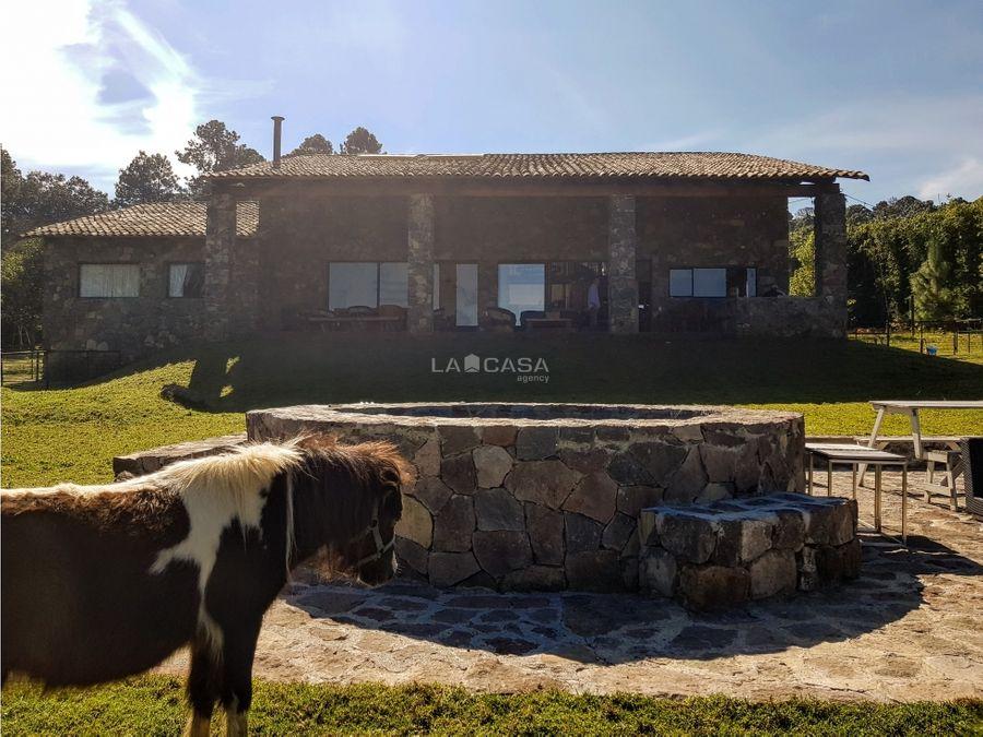 rancho en zona exclusiva