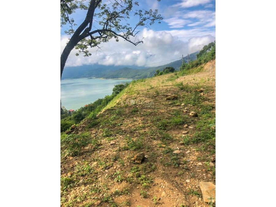 terreno el alto con vista al lago valle de bravo