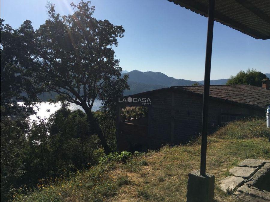 terreno en valle de bravo con vista al lago