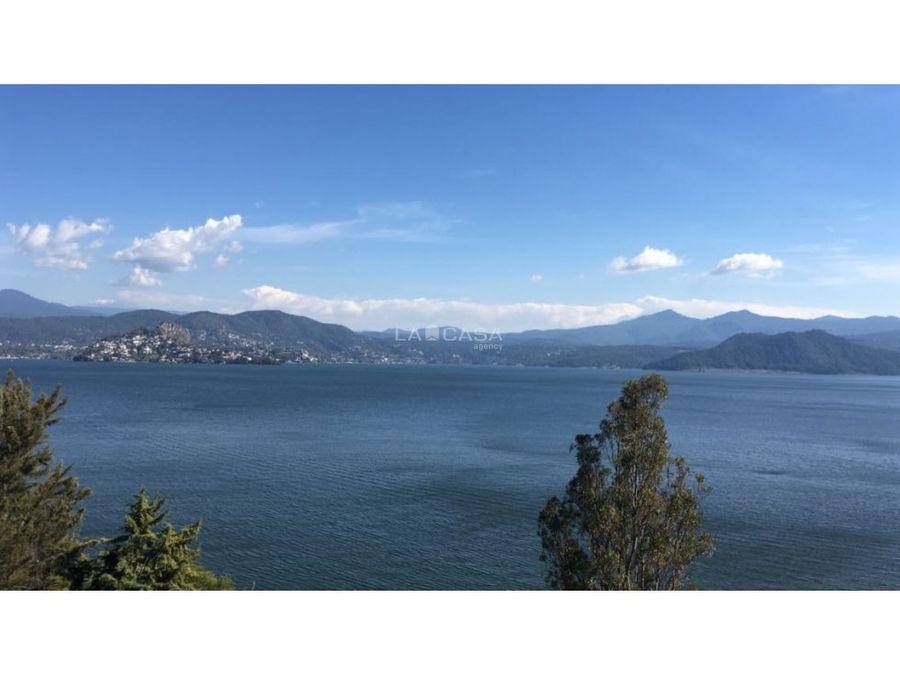 terreno en san gaspar con vista al lago