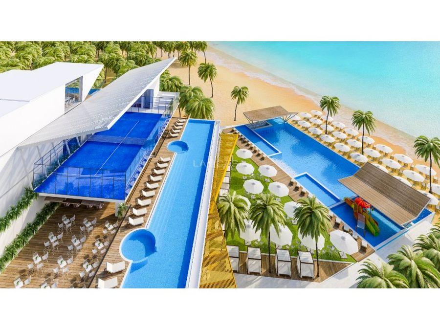 aura coast telchac beach front