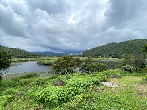 terreno con vista al lago de tiloxtoc