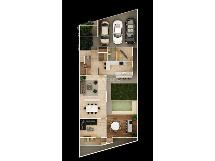 residencia de 4 habitaciones en temozon