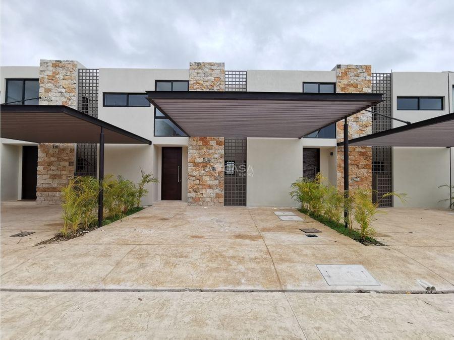 casa de 3 habitaciones con piscina en residencial con amenidades