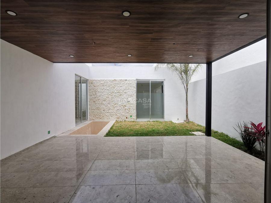 casa nueva de 1 planta en venta en exclusivo residencial mod 264