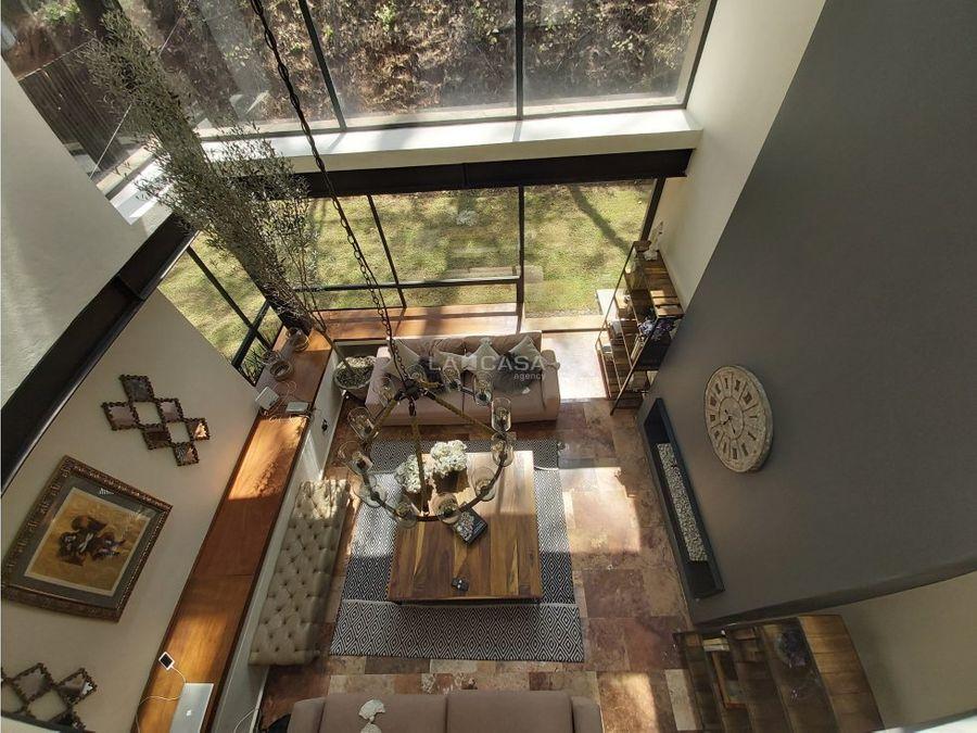 casa en magnifico condominio