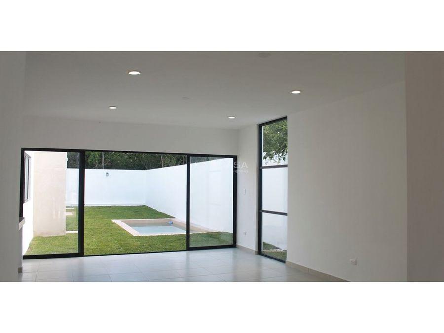 casa de un piso en privada zelena