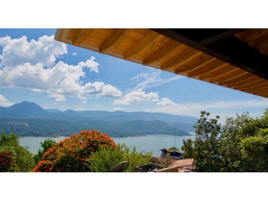 casa en condominio para estrenar con vista al lago