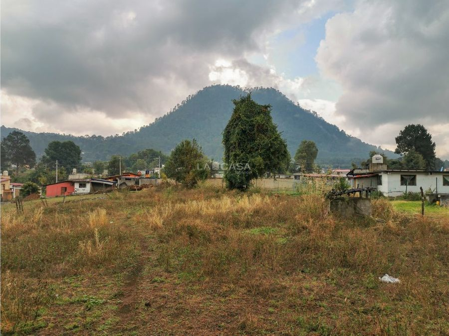 terreno para inversion o proyecto valle de bravo