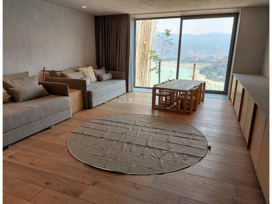 casa nueva en la pena con espectacular vista al lago