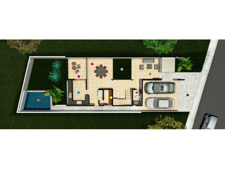 casa en residencial altabrisa