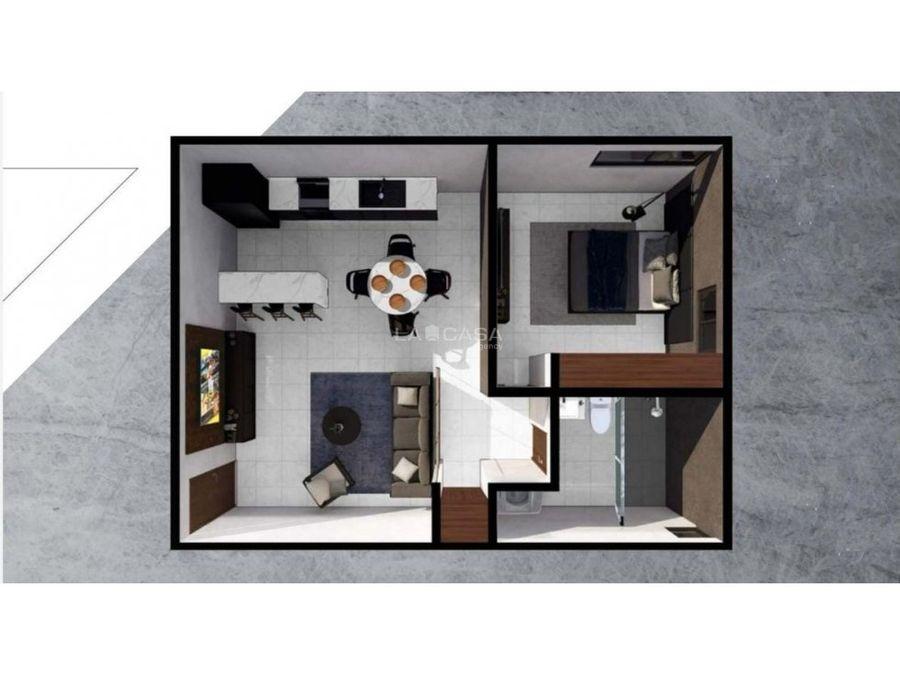 departamento de 1 habitacion con elevador y cochera techada