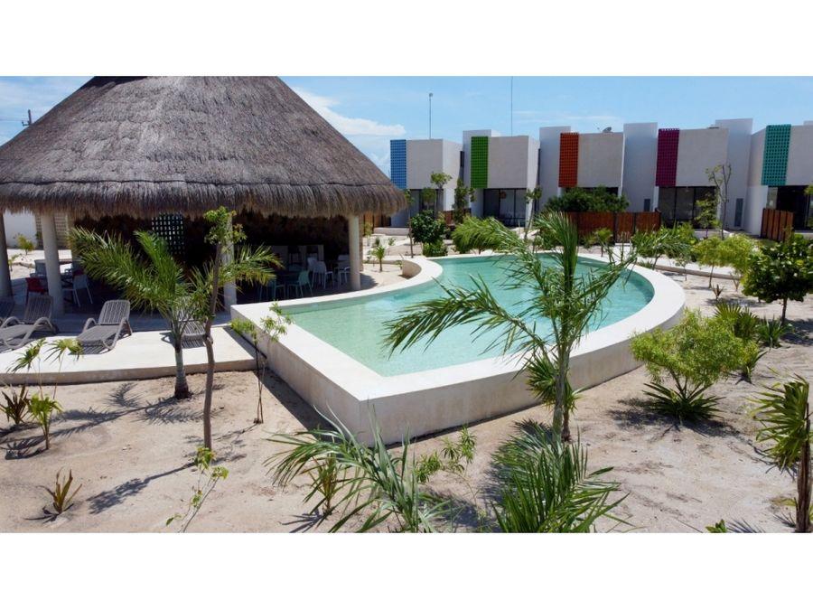 townhouse en la playa con piscina en privada con amenidades