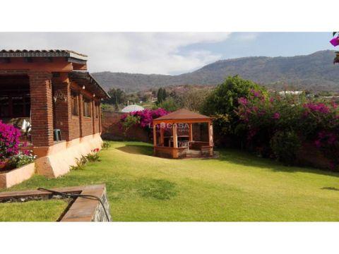 hermosa casa de campo en zumpahuacan