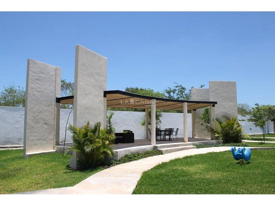 desarrollo residencial en temozon
