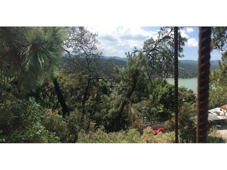 fabuloso terreno con vista al lago