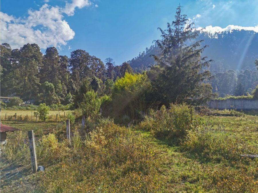 terreno gran cedro valle de bravo