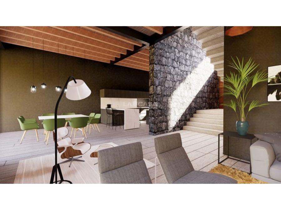 casa nueva en condominio en lo alto del pueblo