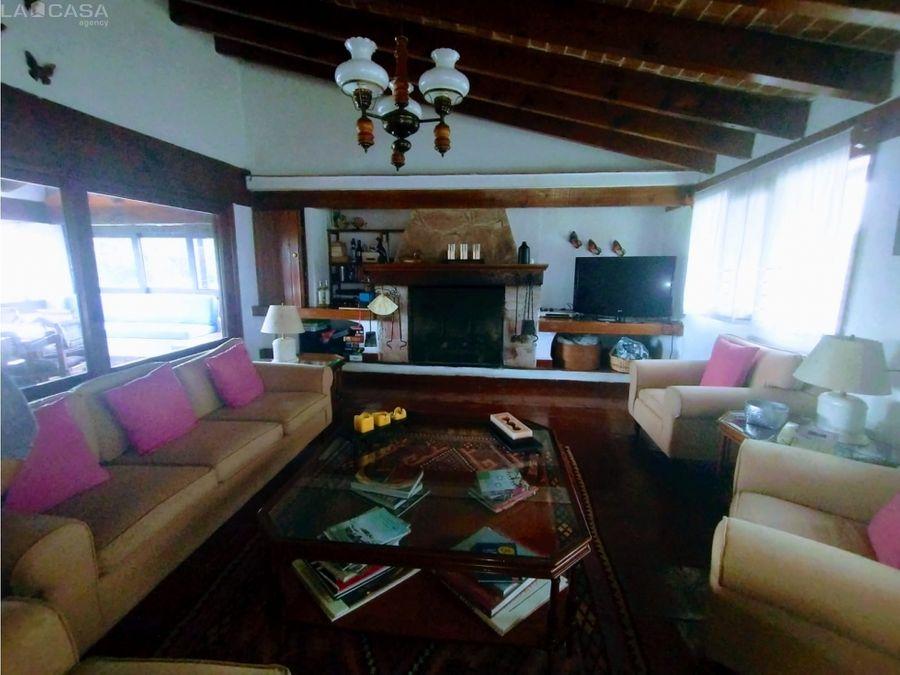 casa en venta en el centro estilo vallesano