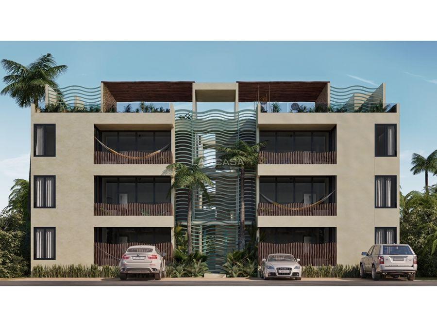 departamento de playa con 3 habitaciones en chicxulub puerto