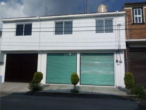 casa y local en zinacantepec