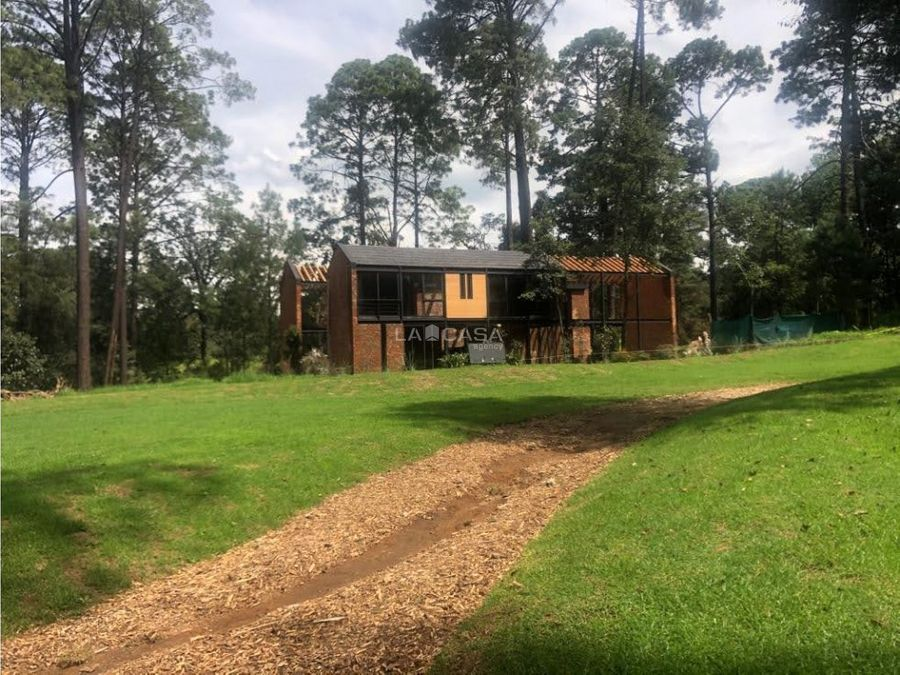 espectacular casa en rancho avandaro