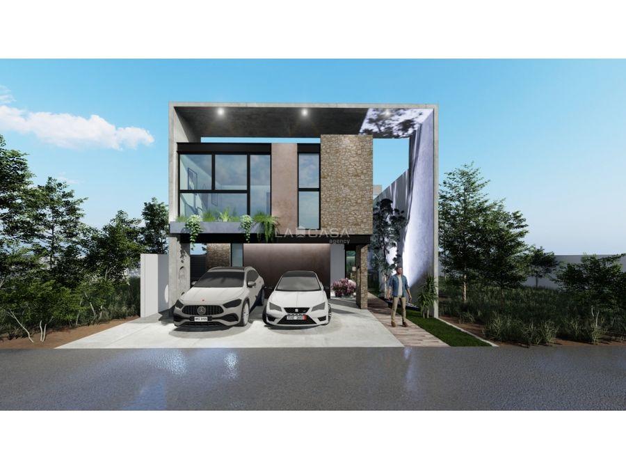 casa con moderno diseno en tamora