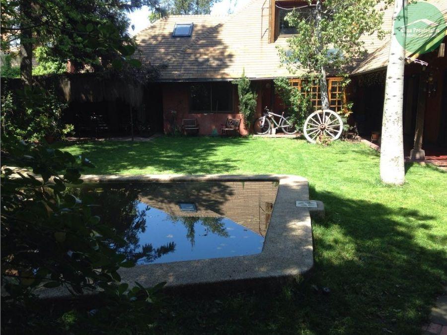 casa las condes que esperabas piscina jardines