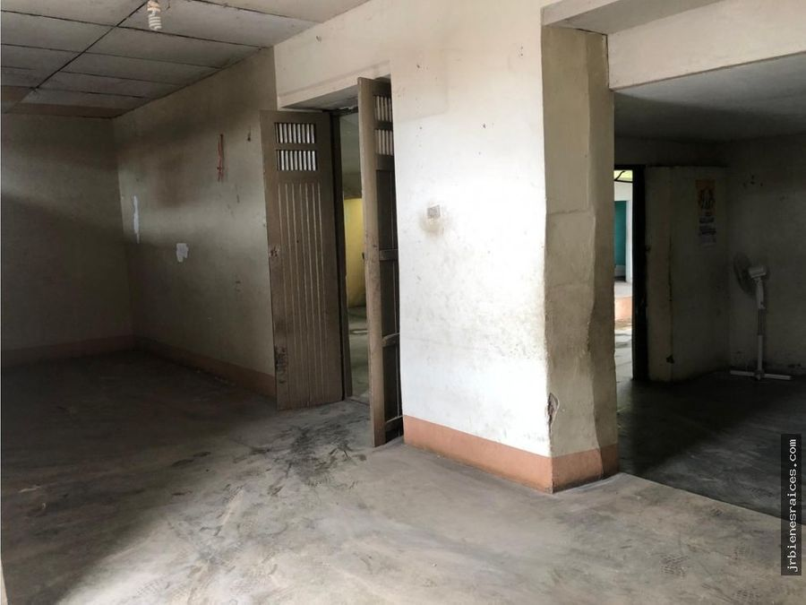 terreno ideal para hotel centro de tarapoto