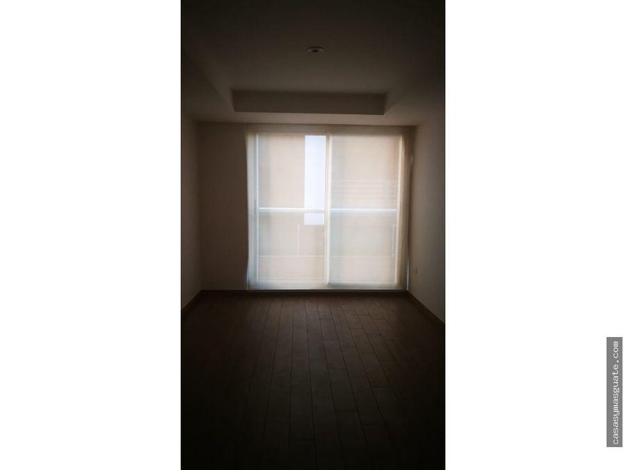 apartamento de 2 hab en avenida reforma zona 10