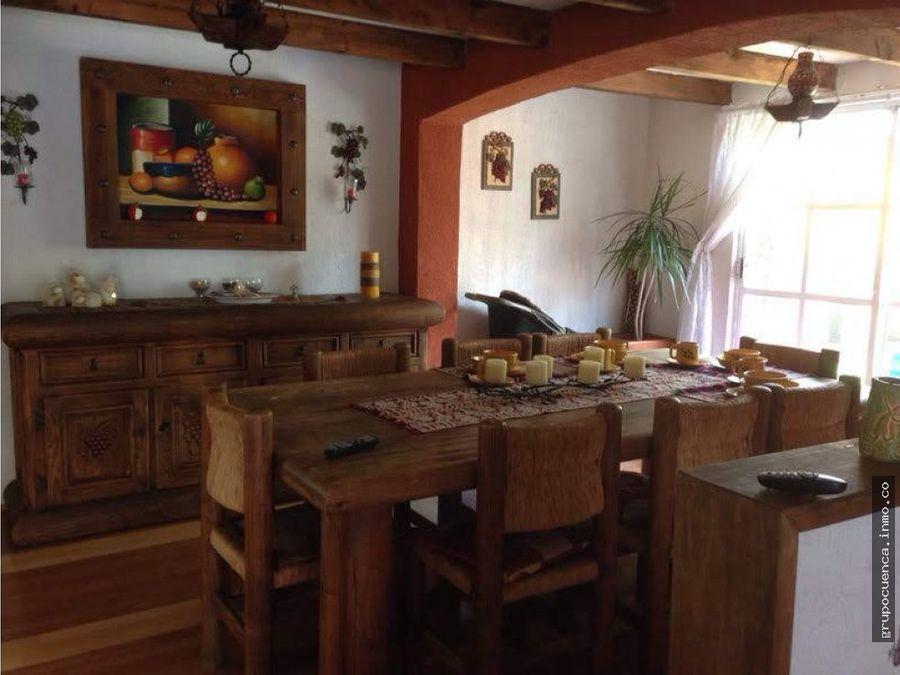 casa amuebla en hacienda del valle