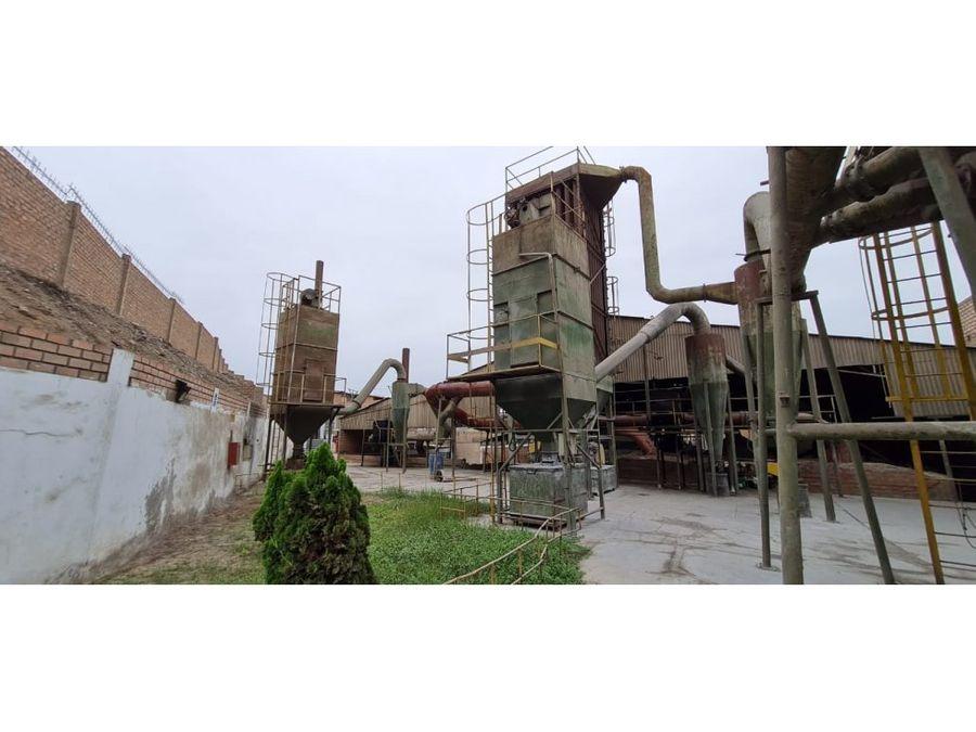 vendo terreno industrial de 2861m2 en ventanilla