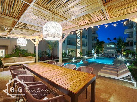 Apartamento en Beach Garden, Los Corales, Bávaro