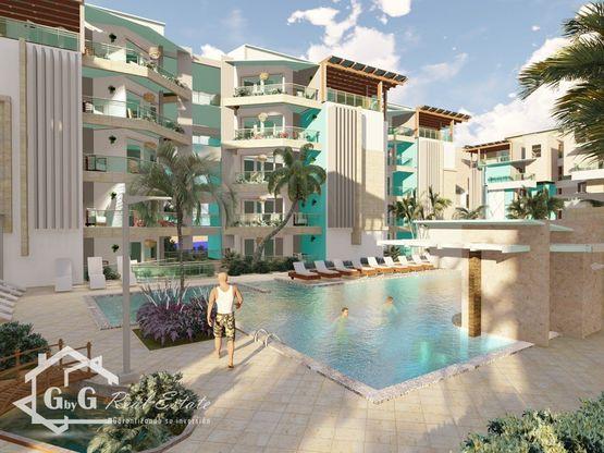 Apartamentos en Maple Beach, Cortecito, Bávaro