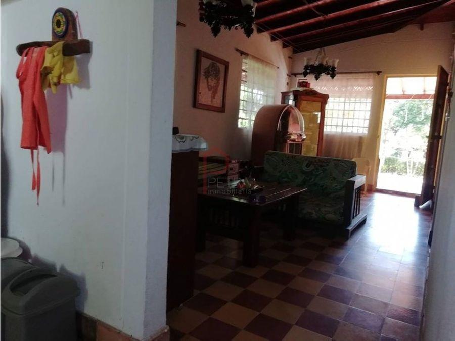 se vende casa finca en san jeronimo antioquia