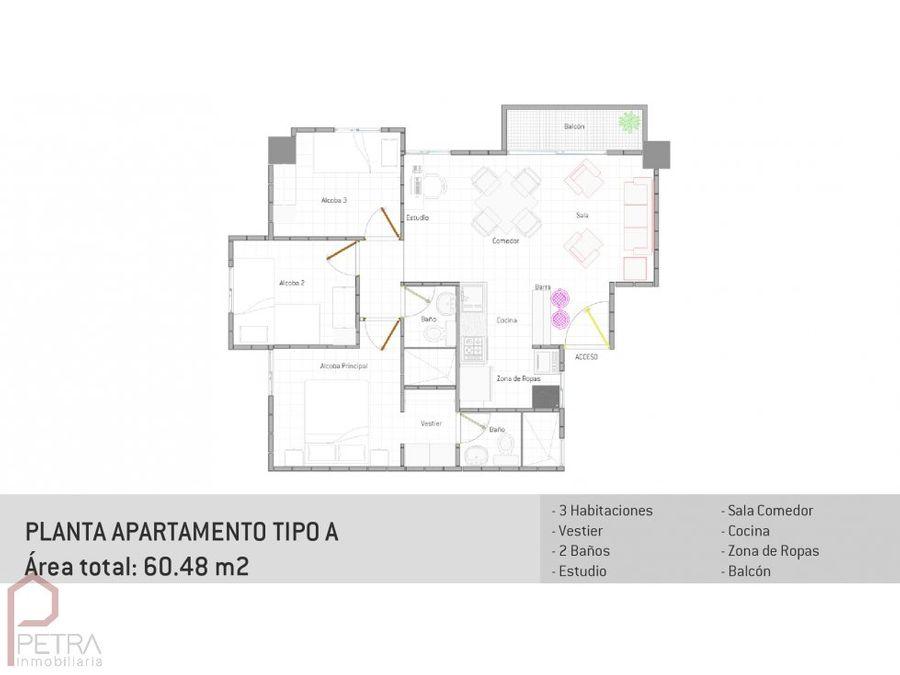 venta de apartamento en la gabriela bello
