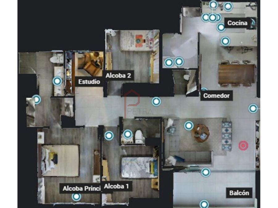 se vende apartamento en la loma de los mesa envigado