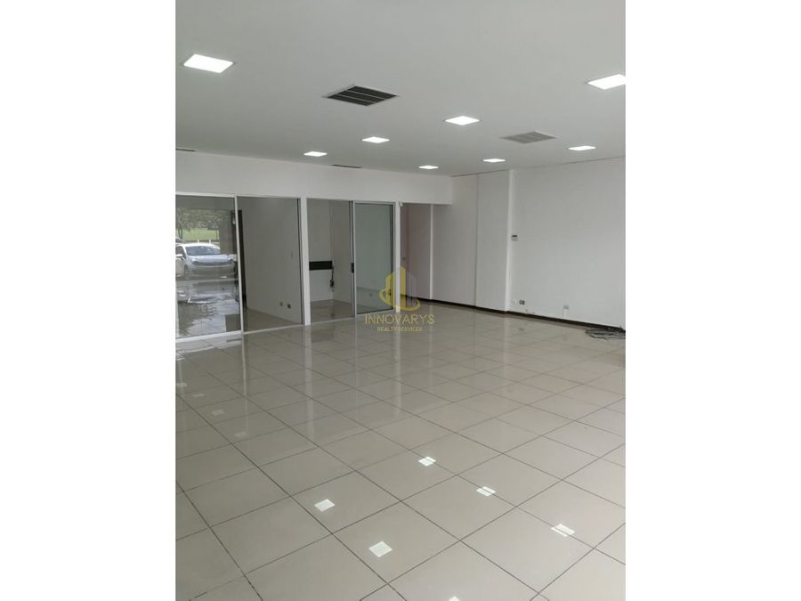 alquiler local de 104 m2 en sabana norte