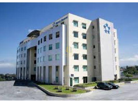 alquiler oficina 585 m2 en torre banco general escazu