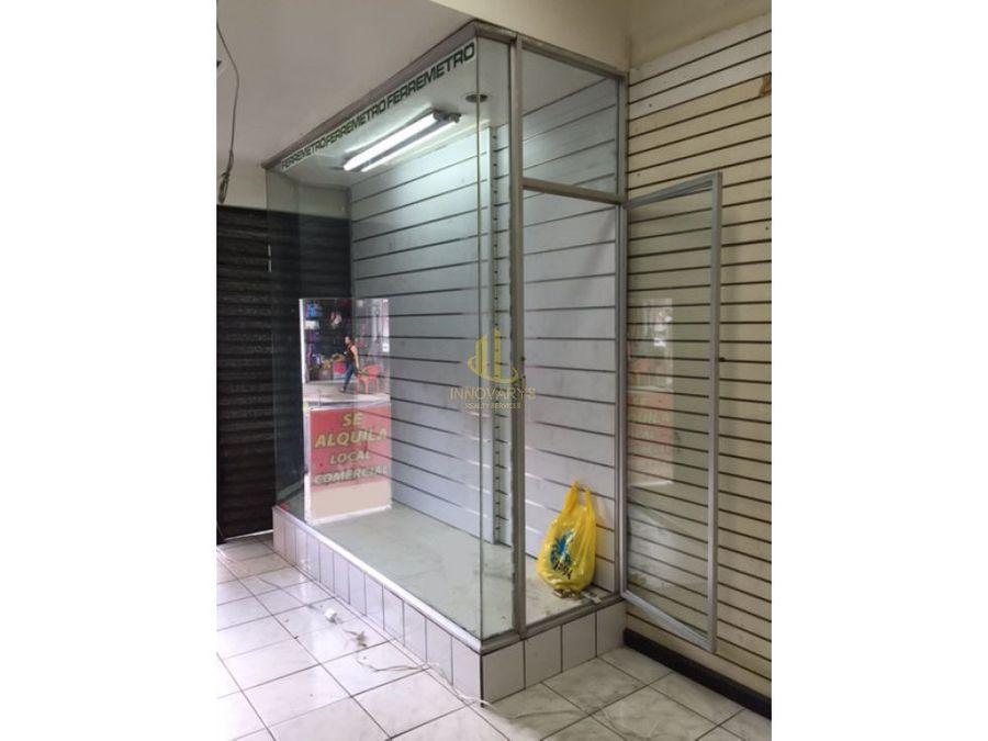 alquiler de local san jose centro por bco nacional