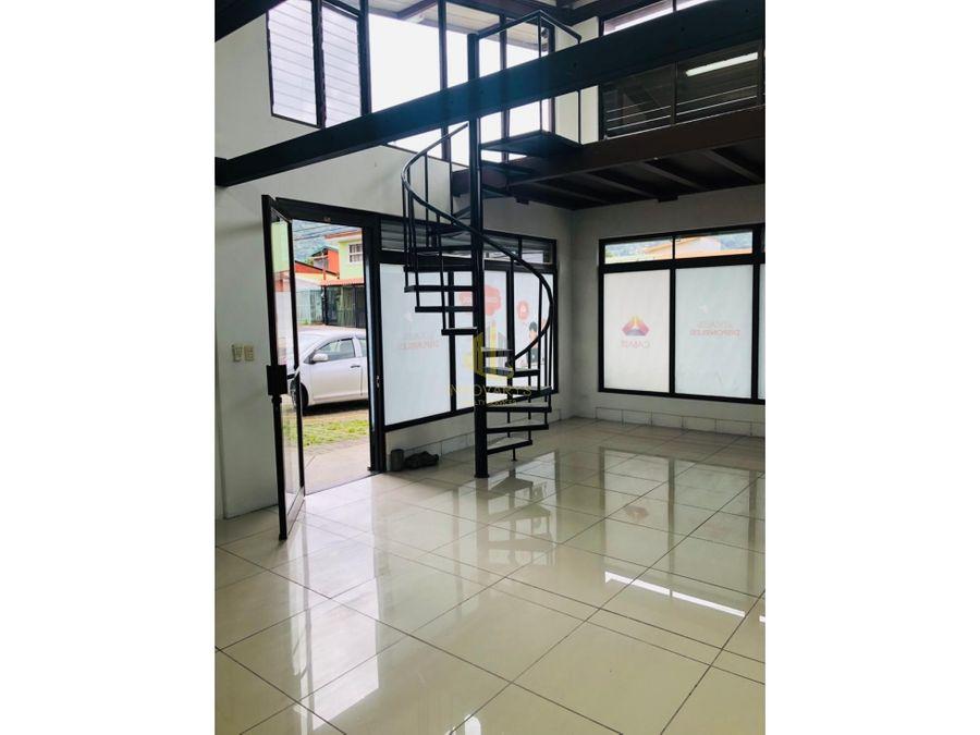 alquiler de local comercial de 40 m2 en escazu centro