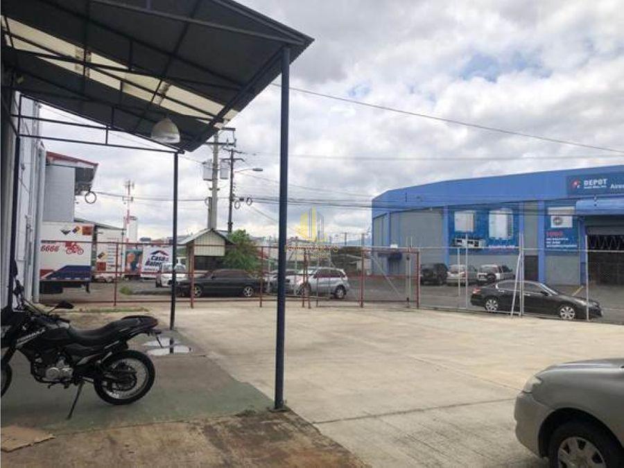 alquiler de bodega de 756 m2 barrio pitahaya san jose