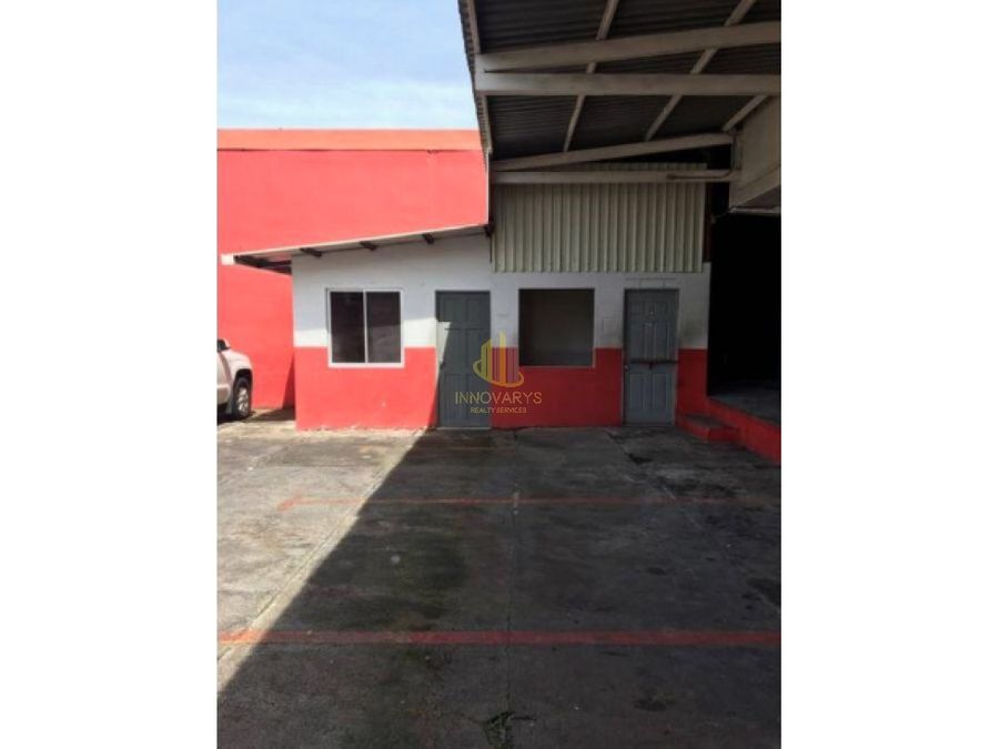 alquiler de edificio de bodegas y oficinas en san jose