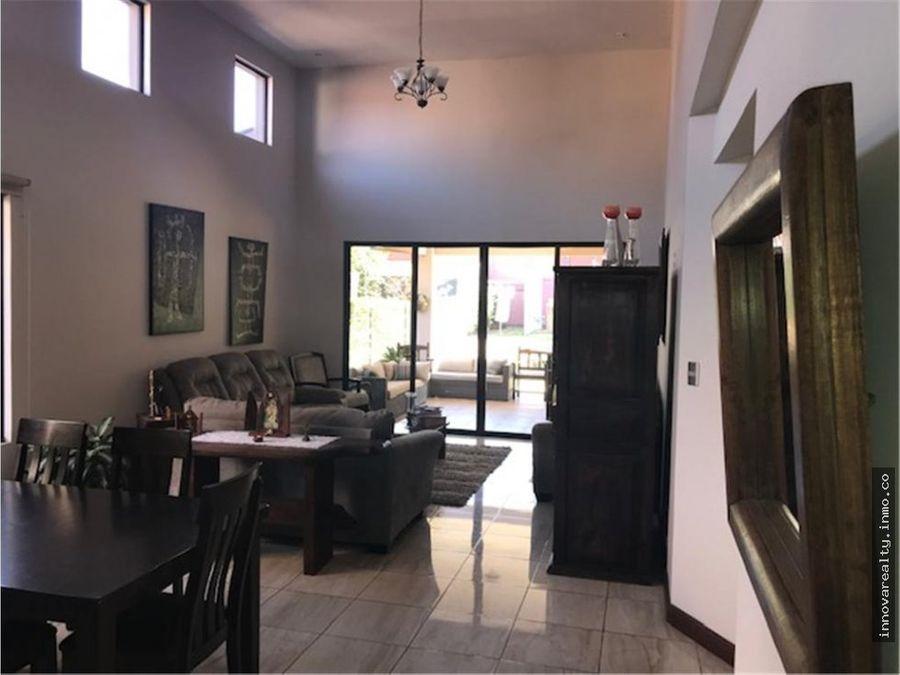 venta de casa en condominio la guacima