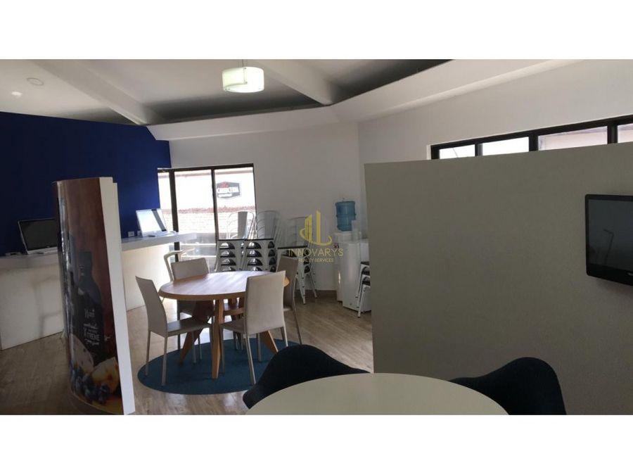alquiler oficina 160 m2 en plaza comercial escazu