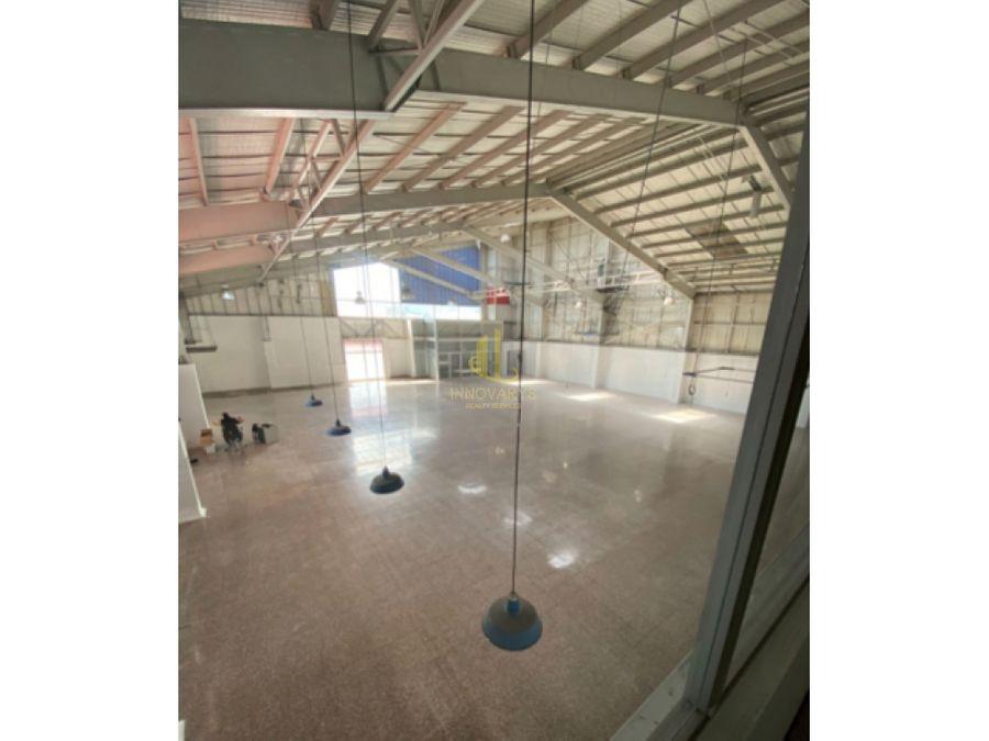 alquiler de bodega de 1000 m2 guadalupe